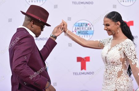 Ne-Yo, Crystal Renay. Ne-Yo, left, and Crystal Renay arrive at the Latin American Music Awards, at the Dolby Theatre in Los Angeles