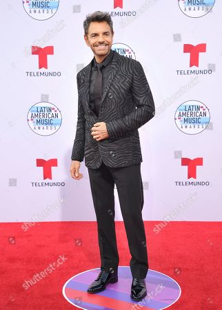 Eugenio Derbez arrives at the Latin American Music Awards, at the Dolby Theatre in Los Angeles