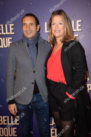 Zinedine Soualem and Caroline Fraindt