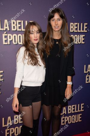 Juliette Besson and Clemence Rochefort
