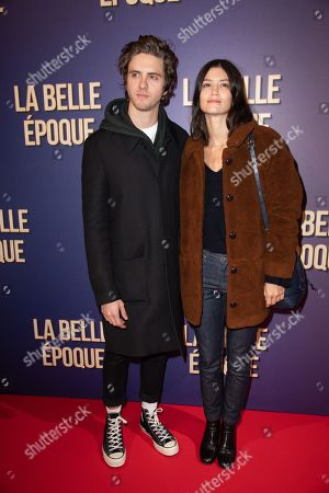 Thomas Soliveres and Lucie Boujenah