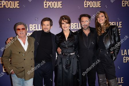 Stock Photo of Daniel Auteuil, Guillaume Canet, Fanny Ardant, Nicolas Bedos and Doria Tillier