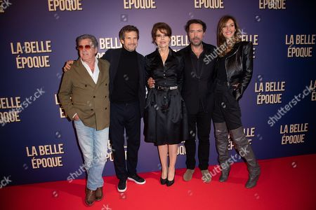Editorial image of 'La Belle Epoque' film premiere, Gaumont Opera, Paris, France - 17 Oct 2019