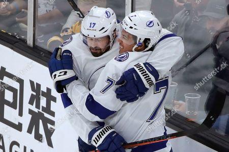 Editorial image of Lightning Bruins Hockey, Boston, USA - 17 Oct 2019