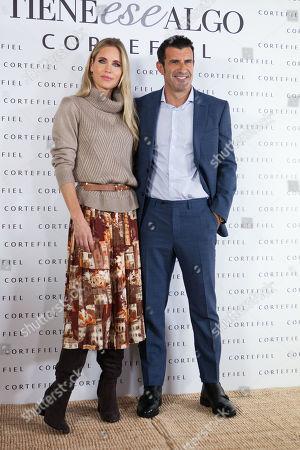 Helen Svedin and Luis Figo