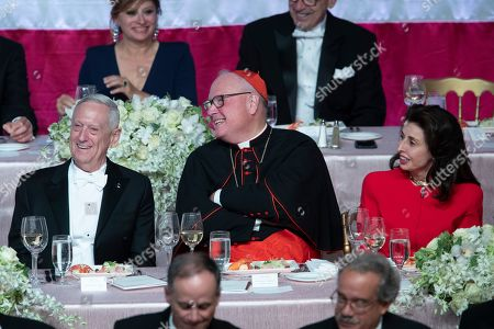 Editorial picture of Alfred Smith Dinner, New York, USA - 17 Oct 2019