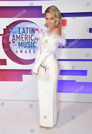 Editorial image of 2019 Latin American Music Awards - Backstage, Los Angeles, USA - 17 Oct 2019