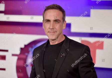 Carlos Ponce poses backstage at the Latin American Music Awards, at the Dolby Theatre in Los Angeles