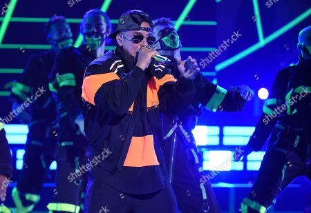 Daddy Yankee performs at the Latin American Music Awards, at the Dolby Theatre in Los Angeles