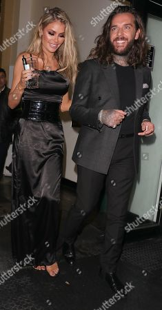 Peter Wicks and Chloe Sims
