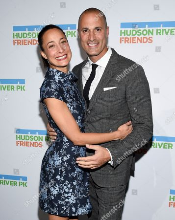 Stock Photo of Nigel Barker, Cristen Barker. Photographer Nigel Barker, right, and wife Cristen Barker attend the annual Hudson River Park Gala at Cipriani South Street, in New York