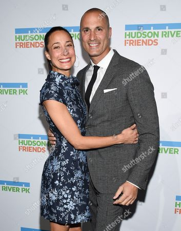 Nigel Barker, Cristen Barker. Photographer Nigel Barker, right, and wife Cristen Barker attend the annual Hudson River Park Gala at Cipriani South Street, in New York