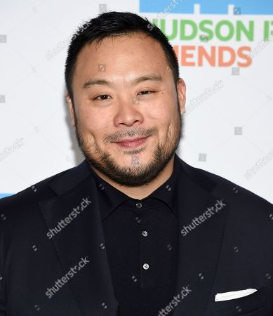 Chef David Chang attends the annual Hudson River Park Gala at Cipriani South Street, in New York