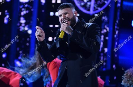 Farruko performs at the Latin American Music Awards, at the Dolby Theatre in Los Angeles