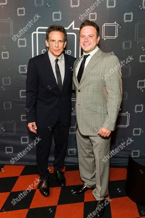 Stock Photo of Ben Stiller and Zachary Pym Williams