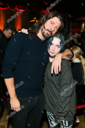 Dave Grohl and Violet Maye