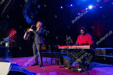 Stock Picture of Dave Koz and Charles Jones