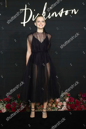 "Anna Baryshnikov attends the Apple TV+ series ""Dickinson"" premiere at St. Ann's Warehouse, in New York"