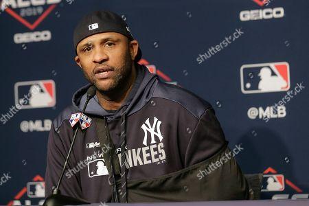 Editorial photo of ALCS Astros Yankees Baseball, New York, USA - 18 Oct 2019