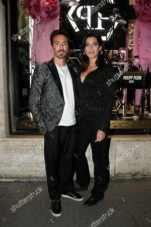 Samuel Peron and Tania Bambaci
