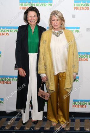 Diana Taylor and Martha Stewart