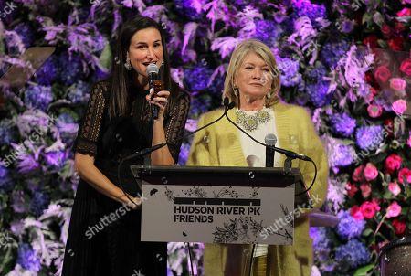 Lydia Fenet and Martha Stewart