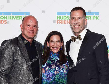 Stock Picture of Michael Novogratz, Scott Lawin and Sukey Novogratz