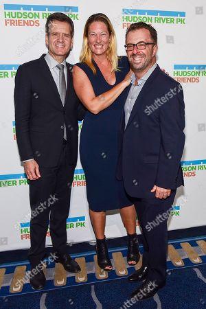 Joshua Rahn, Jessica Contrastano and Brad Hoylman