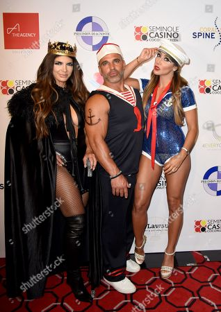 Editorial image of Fright Nights Halloween costume party, The Coconut Creek Casino, USA - 17 Oct 2019
