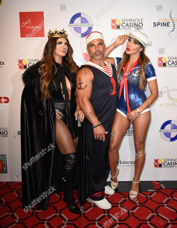 Editorial picture of Fright Nights Halloween costume party, The Coconut Creek Casino, USA - 17 Oct 2019