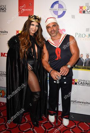 Stock Photo of Teresa Giudice and Joe Gorga