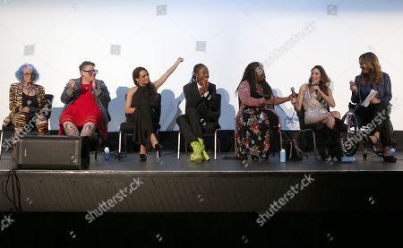 Roberta, Heather Sugarman, Rosario Dawson, Nana Ghana, Jackie Pucci, Mia Schaikewitz, Kirsten Schaffer