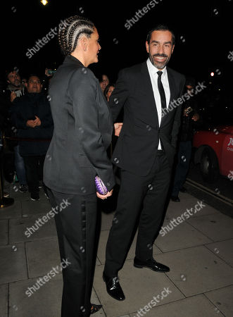 Stock Photo of Jessica Lemarie-Pires and Robert Pires
