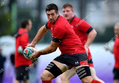 Justin Tipuric during training.
