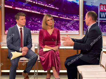 Stock Image of Ben Shephard, Kate Garraway, Kyran Bracken