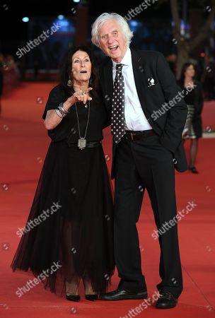 The photographer Douglas Kirkland and wife Francoise