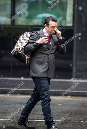 Editorial picture of Tommy Wright, Dax Price and Giuseppe 'Pino' Pagliara bribery trial, Southwark Crown Court, London, UK - 17 Oct 2019