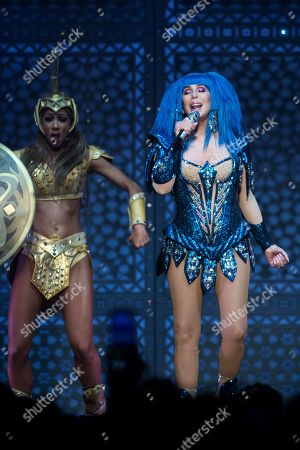 Editorial image of Cher in concert at The O2, London, UK - 20 Oct 2019