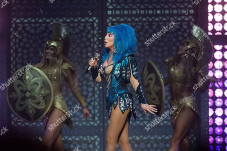 Editorial photo of Cher in concert at The O2, London, UK - 20 Oct 2019