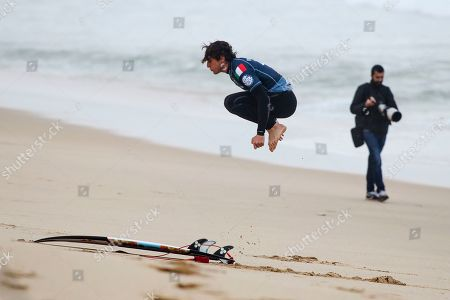 Editorial image of Surfing WSL - MEO Rip Curl Pro Portugal 2019, Peniche - 18 Oct 2019