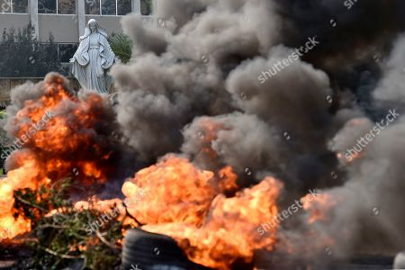 Editorial photo of Protests in Lebanon, Beirut - 18 Oct 2019