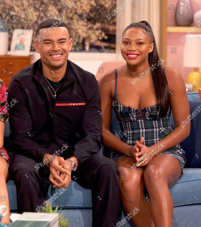 Editorial image of 'This Morning' TV show, London, UK - 18 Oct 2019