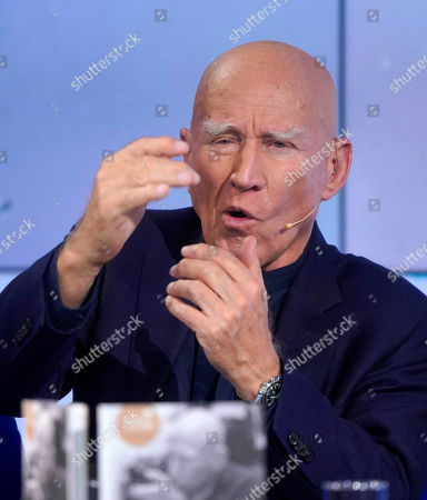 Brazilian author Sebastiao Salgado during an interview at the book fair Frankfurter Buchmesse 2019, in Frankfurt am Main, Germany, 18 October 2019. The 71st edition of the international Frankfurt Book Fair, described as the world's most important fair for the print and digital content business, runs from 16 to 20 October and gathers authors, writers and celebrities from all over the world. This year's Guest of Honour country is Norway.