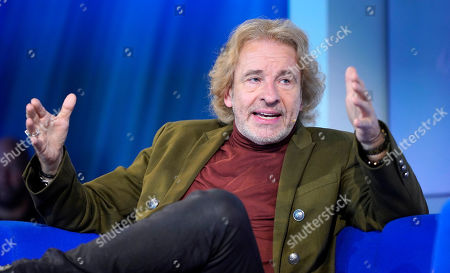 German author and TV host Thomas Gottschalk during an interview at the book fair Frankfurter Buchmesse 2019, in Frankfurt am Main, Germany, 18 October 2019. The 71st edition of the international Frankfurt Book Fair, described as the world's most important fair for the print and digital content business, runs from 16 to 20 October and gathers authors, writers and celebrities from all over the world. This year's Guest of Honour country is Norway.