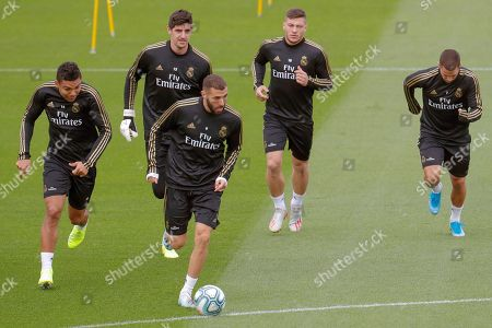 Editorial photo of Training session of Real Madrid, Spain - 18 Oct 2019