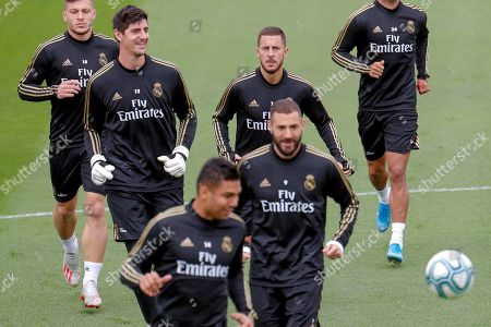 Editorial image of Training session of Real Madrid, Spain - 18 Oct 2019