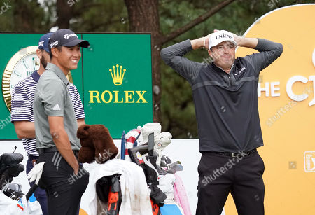 Stock Picture of Ryan Palmer (USA) Collin Mrikawa (USA)