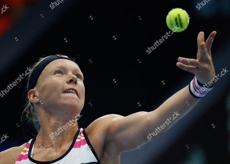 Editorial photo of Kremlin Cup tennis tournament in Moscow, Russian Federation - 18 Oct 2019