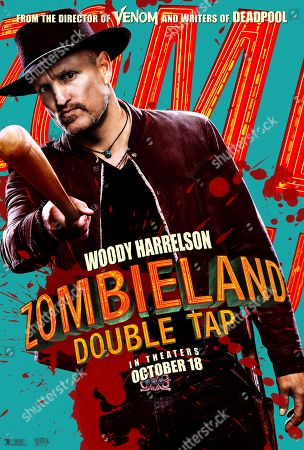 Zombieland: Double Tap (2019) Poster Art. Woody Harrelson as Tallahassee
