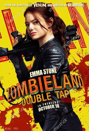 Zombieland: Double Tap (2019) Poster Art. Emma Stone as Wichita